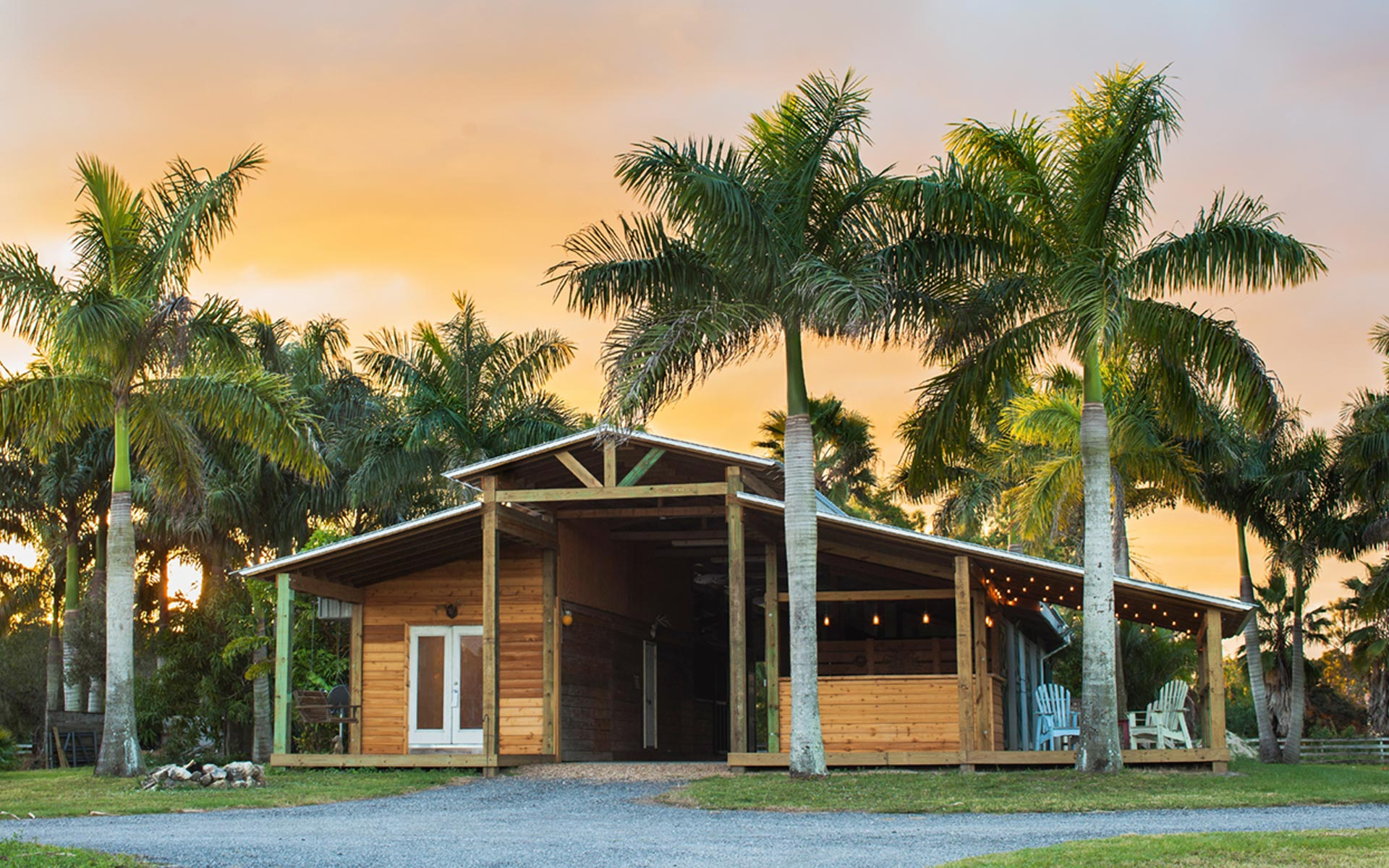 Lucky Old Sun Ranch Rustic Florida Event Venue In Jupiter